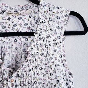 Anthropology Holding Horses flower print top